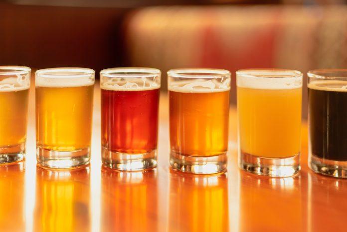 Beer flight beer